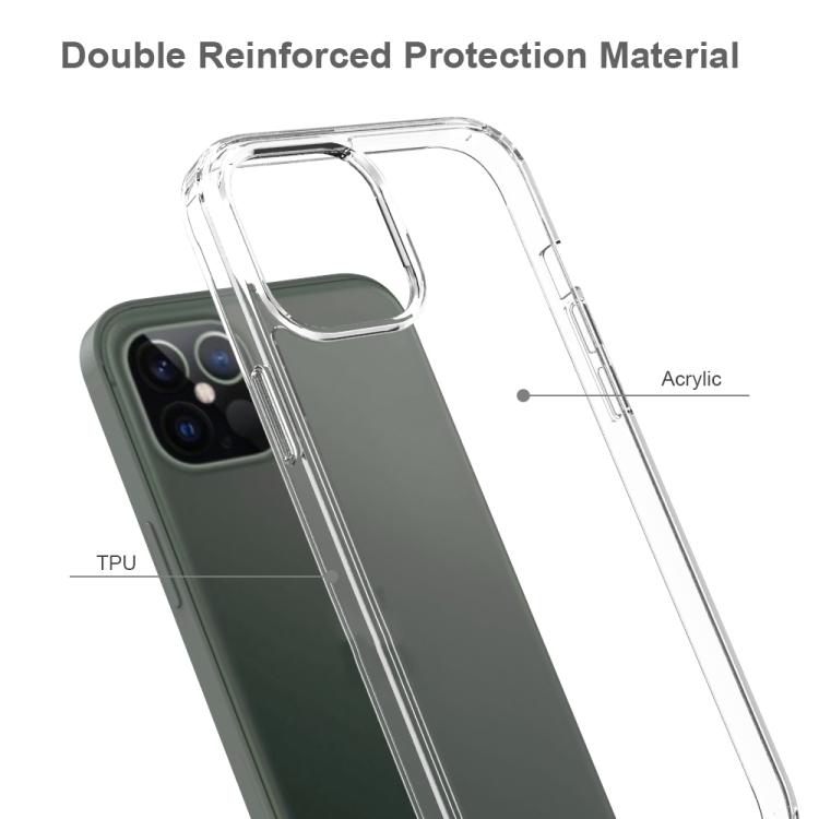Акриловый противоударный чехол HMC на iPhone 12 Pro Max - серый