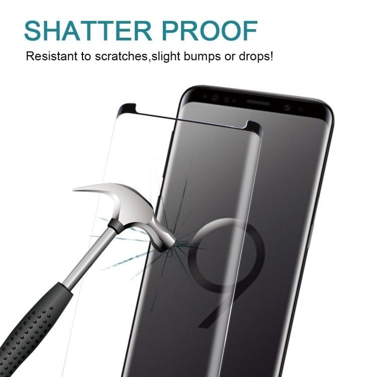 Защитное стекло на Samsung Galaxy S9