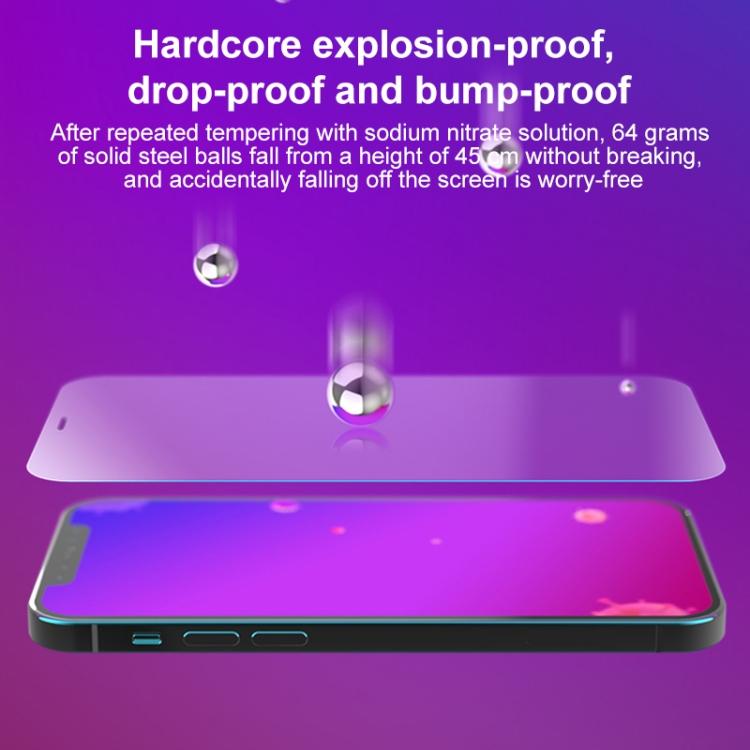Защитное стекло MOMAX Explosion-proof на Айфон 12 Pro Max - прозрачное