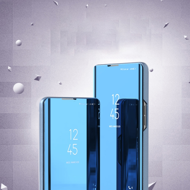 Зеркальный чехол-книжка на Xiaomi Redmi Note9 Pro/Note9 Pro Max/Note 9S