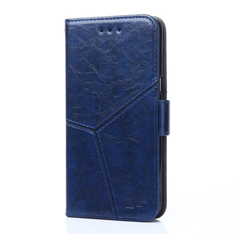 Синий чехол-книжка Stitching для Samsung Galaxy A32