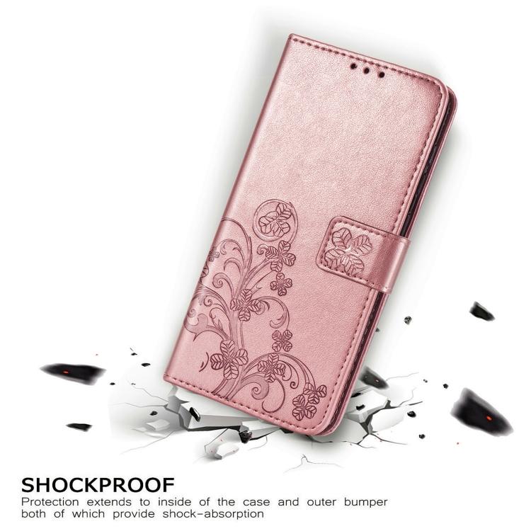 Чехол-книжка Four-leaf Clasp для Samsung Galaxy S21 Plus