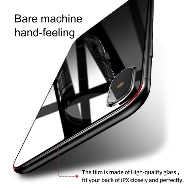Защитное стекло на заднюю панель на Айфон х, хс