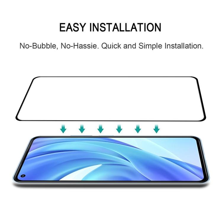 Защитное многослойное стекло на весь экран для Ксяоми Ми 11