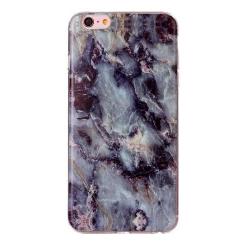 Фактура  напоминает мрамор коричневого цвета Marbling чехла на Айфон 6/ 6s
