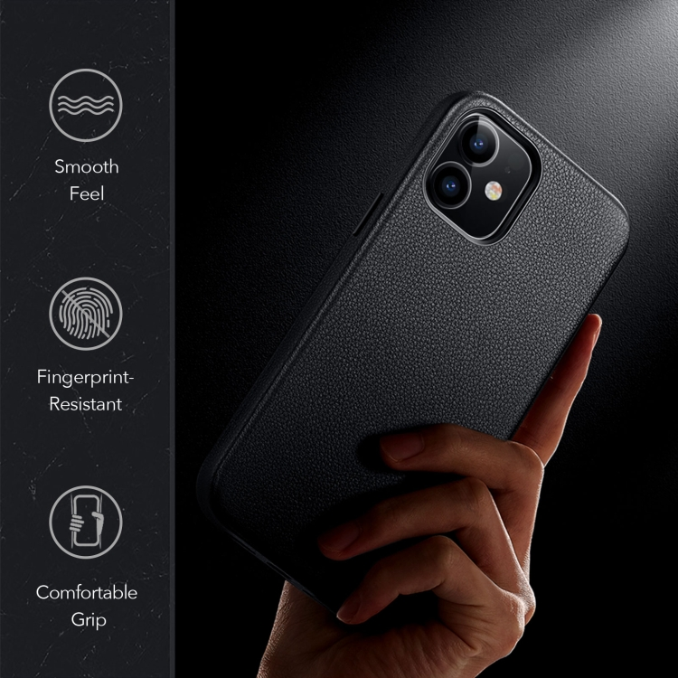 Ударостойкий чехол накладка для Айфон 12 Мини черного цвета