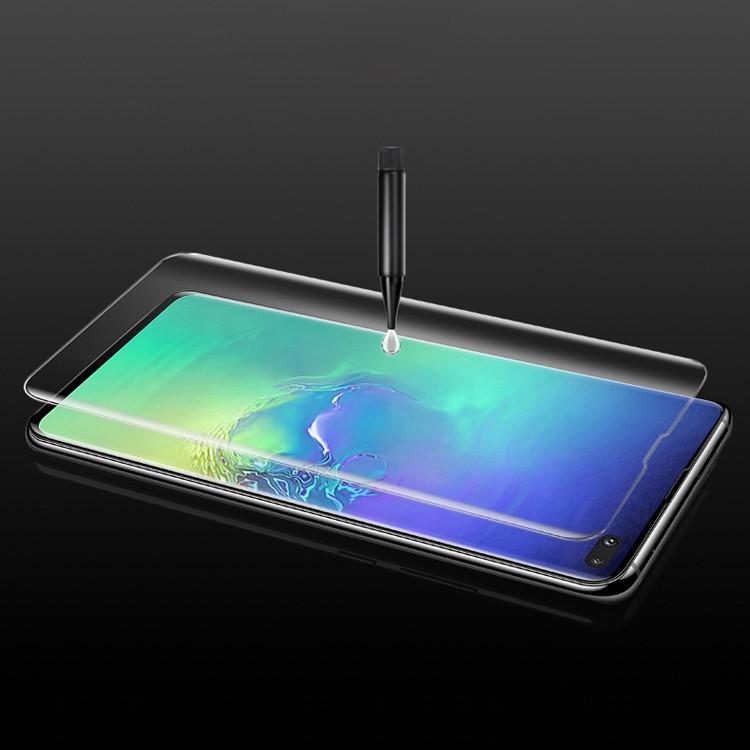 Защитное стекло на весь экран на Самсунг С10