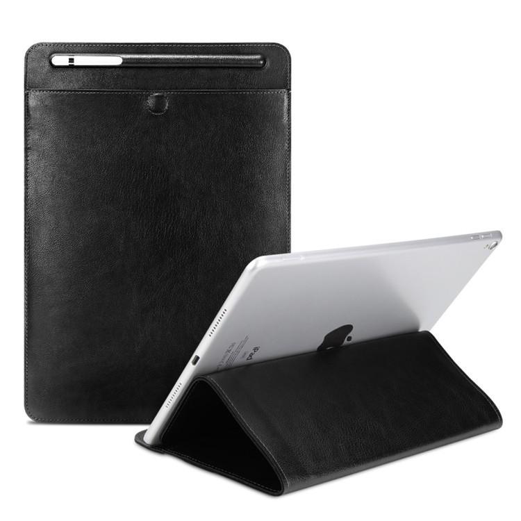 Кожаный универсальный чехол-конверт Sleeve Bag на Айпад 2 / 3 / 4 / iPad Air / Air 2 / Mini 1 / Mini 2 / Mini 3 / Mini 4 / Pro 9.7 / Pro 10.5-кофе