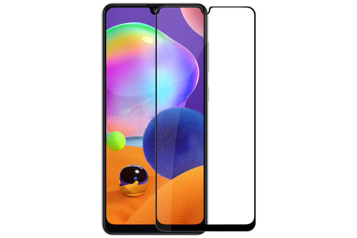Защитное стекло Nillkin CP+PRO для Samsung Galaxy A31 - черное
