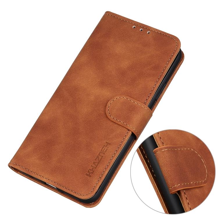 Коричневый кожаный чехол-книжка с магнитной застежкой на Самсунг Гелекси S20 FE