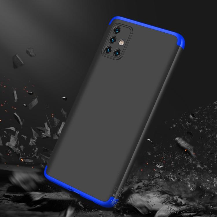 Чехол складной синими рамками для Самсунг Гелекси А5