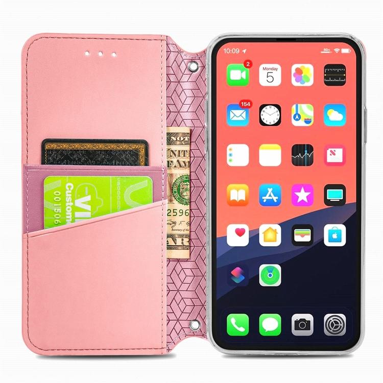 Чехол-книжка для Айфон 13 Про - розовый