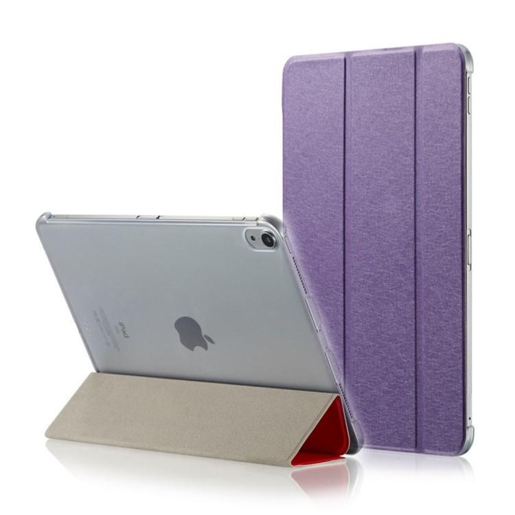 Чехол- книжка Silk Texture на Айпад Про 12.9-фиолетовый