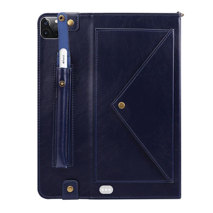 Чехол-конверт синего цвета для Айпад Про 11