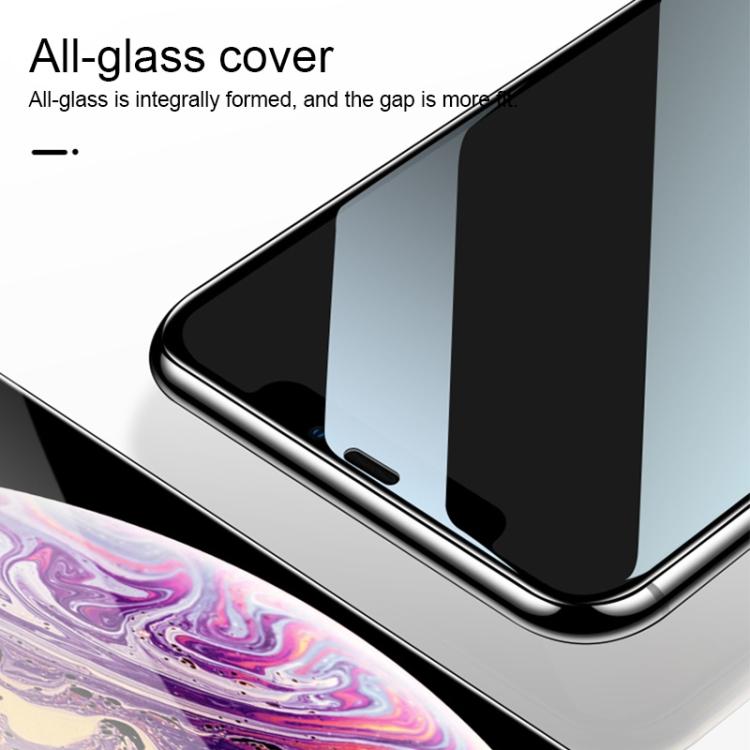 Защитное 3D стекло Подходит ко всем чехлам на Realme C3/ Realme 5 9H HD High Alumina - черный