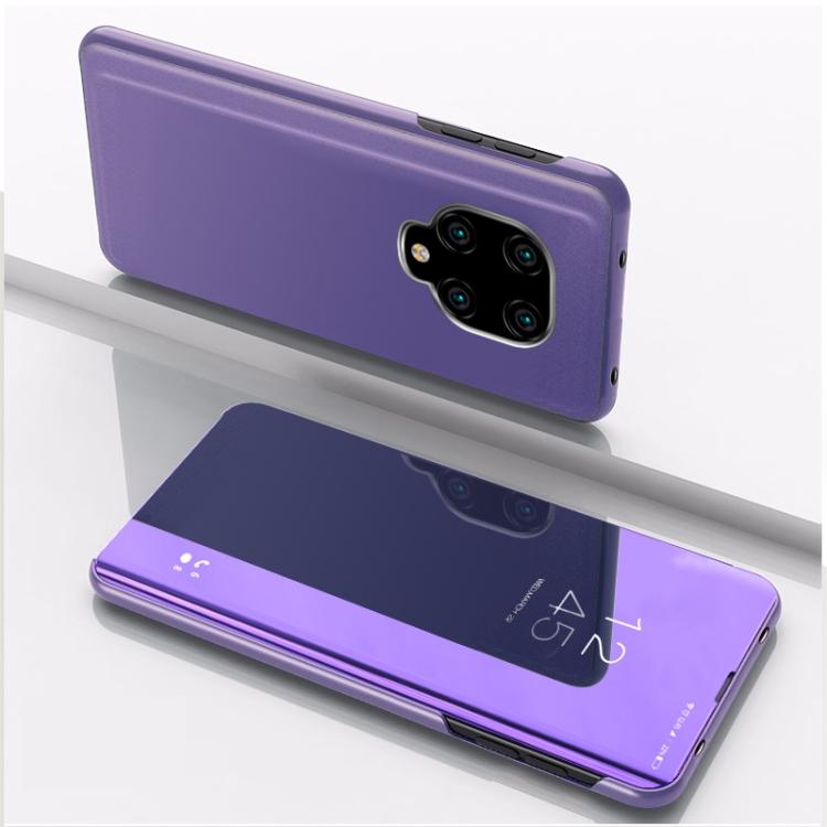Чехол-книжка фиолетового цвета для Сяоми Редми Нот 9 Про