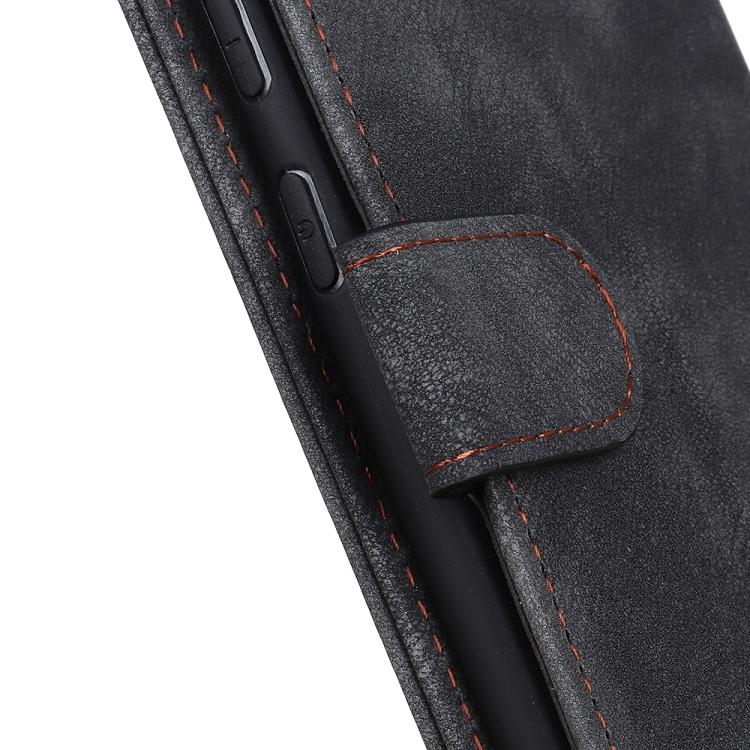 Чехол-книжка с магнитной застежкой для Самсунг Галакси А52 черный