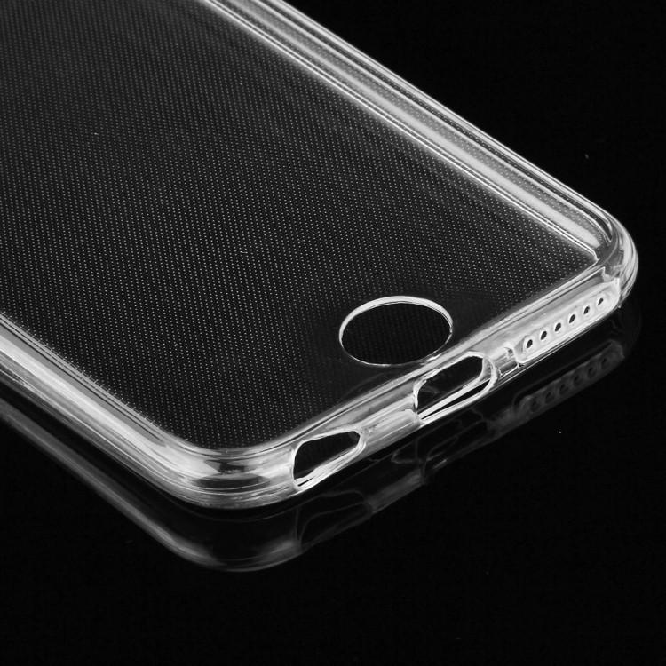 Двусторонний ультратонкий силиконовый чехол на iPhone 6 & 6s 0.75mm