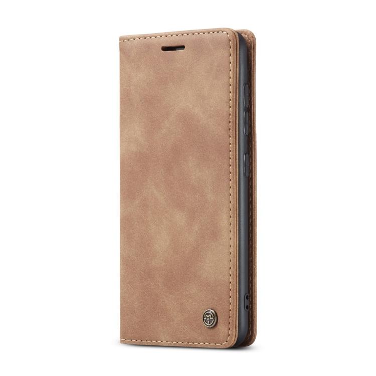 Чехол-книжка CaseMe 013 Multifunctional на Samsung Galaxy S20 FE - коричневый