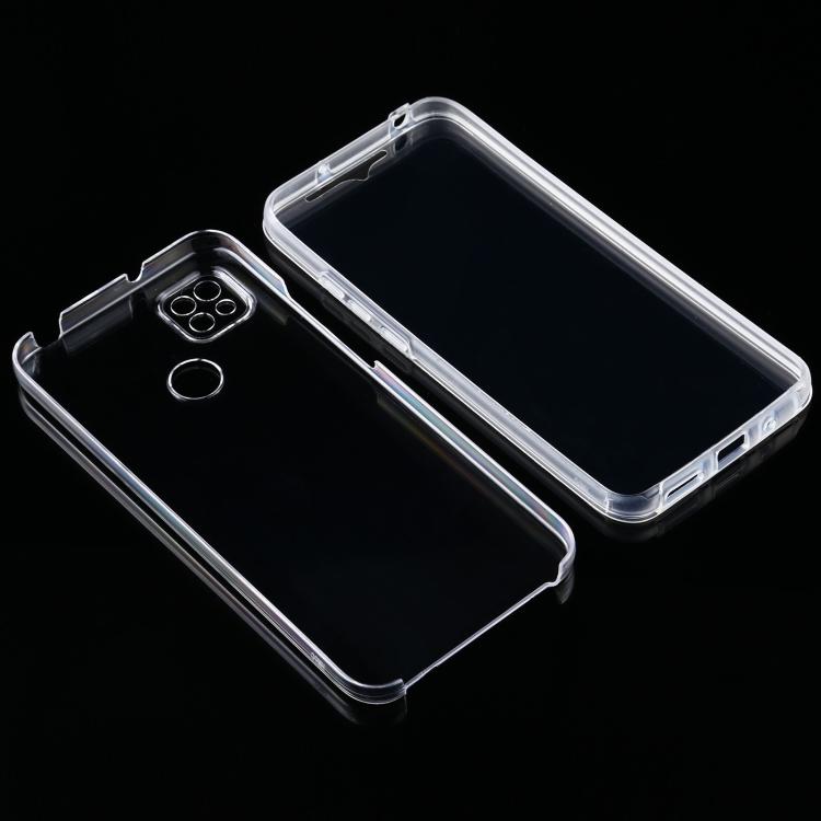 Защитный ударостойкий силиконовый прозрачный чехол накладка для Сяоми Редми 9С
