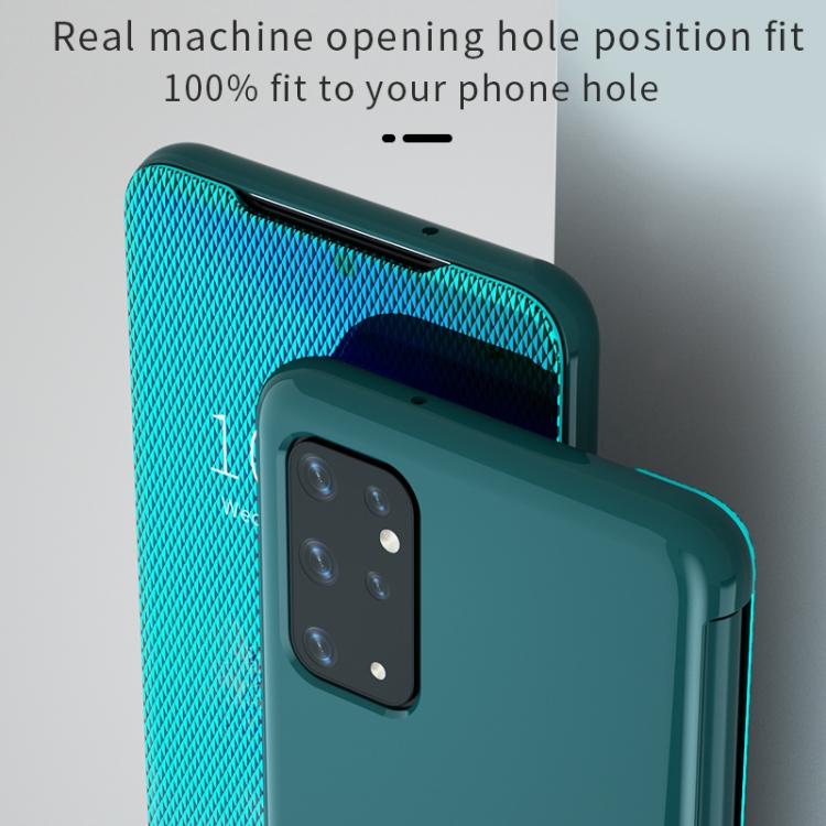 Зеркальный чехол-флип на Samsung S20