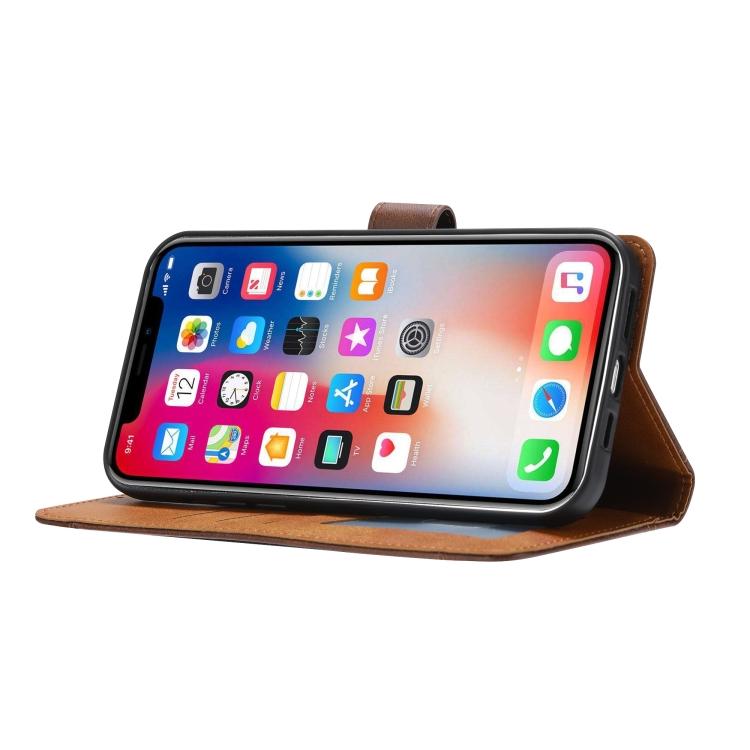 Ударостойкий чехол-книжка со складной подставкой на Айфон 13 Про Макс