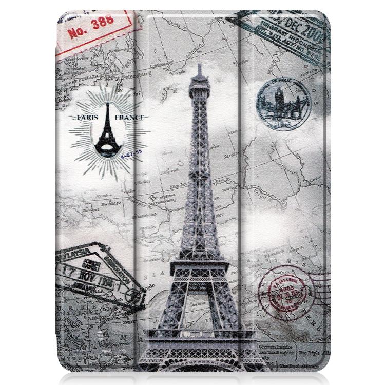 Чехол-книжка с принтом париж для Айпад Про 11