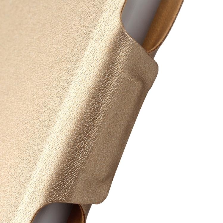 Золотой чехол-книжка с магнитной защелкой для Айпад Аир 2