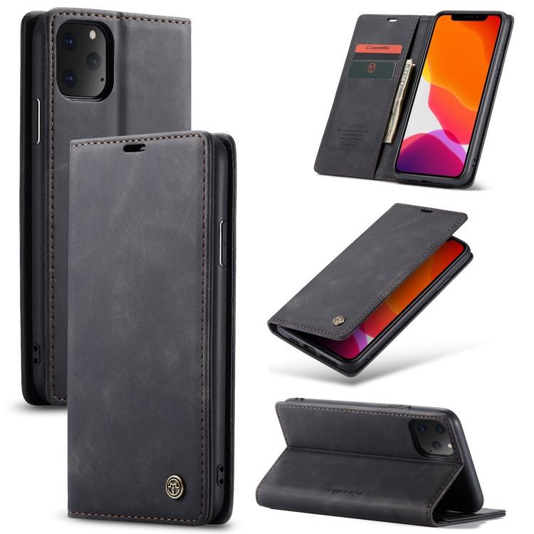 Чехол- книжка CaseMe-013 Multifunctional на Айфон 11 Про Макс- черный