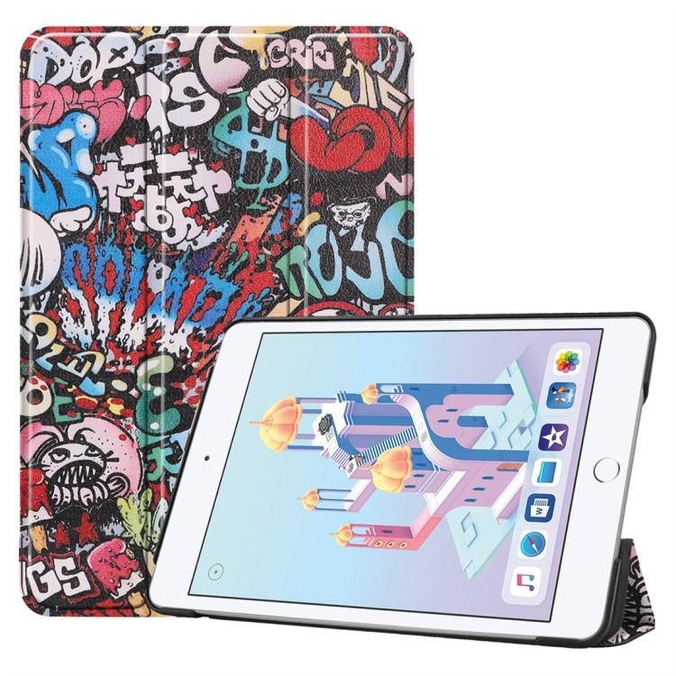 Чехол- книжка Graffiti Pattern Custer Texture на iPad Mini 5 (2019) / Mini 4