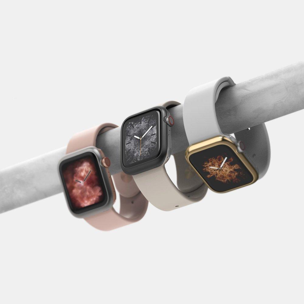 Защитное стекло Ringke Bezel Styling для Apple Watch 44 mm golden