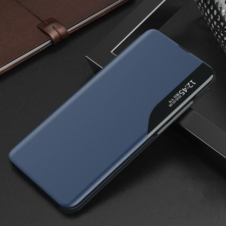 Чехол-книжка Clear View Standing Cover на Xiaomi Redmi 9C - синий