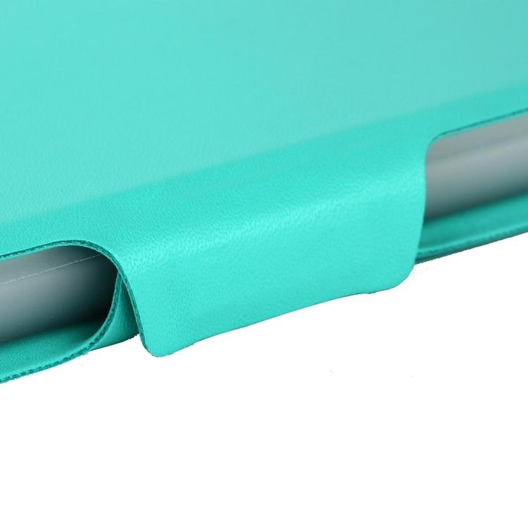 Чехол-книжка зеленого цвета с магнитной защелкой для Айпад Аир 2