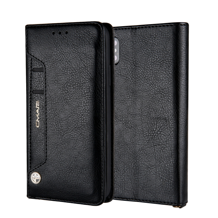 Чехол-книжка CMai2 Kaka Series для Айфон XS / X - черный