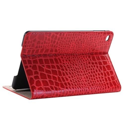 Кожаный Чехол Crocodile Texture красный для iPad Pro 12.9