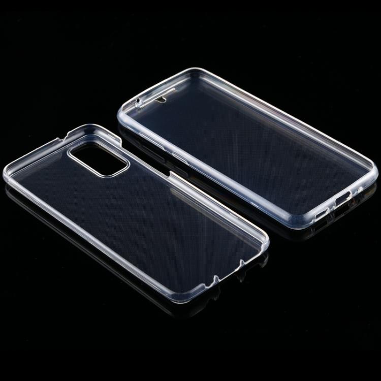 Двусторонний силиконовый чехол на Samsung S20