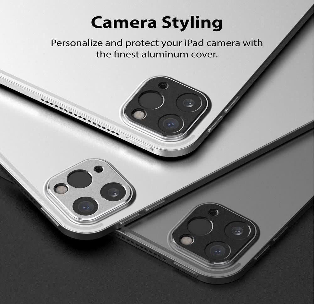 Защитное стекло на камеру Ringke Camera Styling для iPad Pro 12,9 2021/2020/ iPad Pro 11 2021/2020 - черное