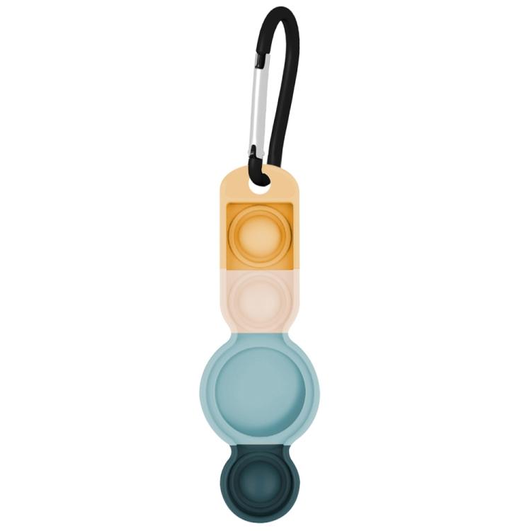 Брелок Color-contrast с карабином для AirTag - светло-зеленый