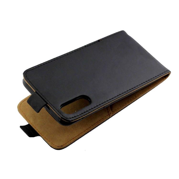Кожаный флип- чехол Business Style для  Самсунг Галакс A50/A30s/A50s- черный