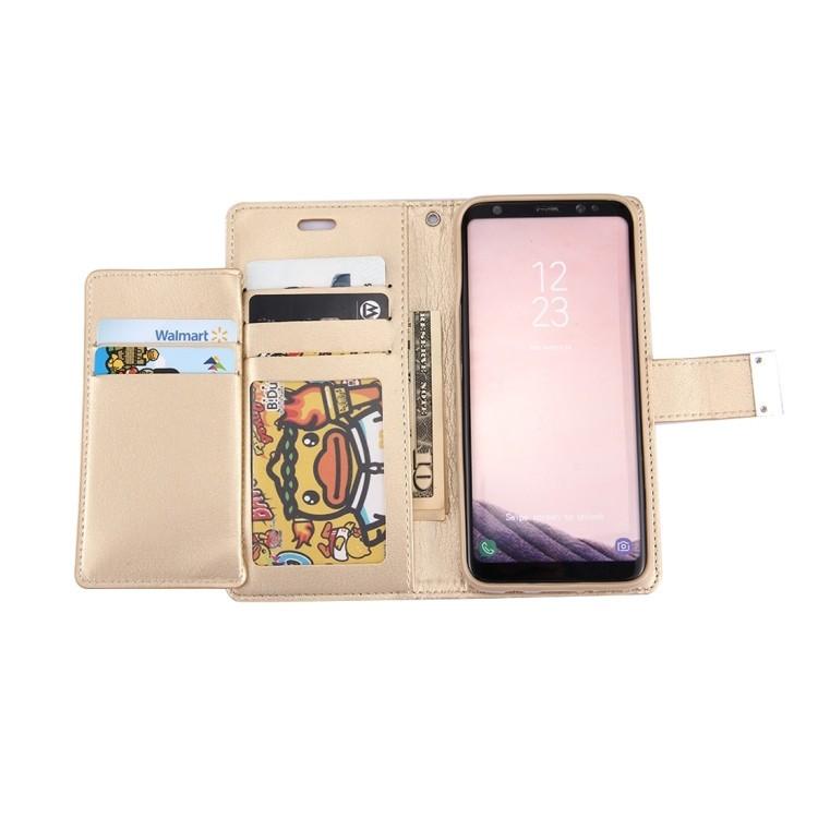 Чехол- книжка MERCURY GOOSPERY RICH DIARY  для   Samsungr Galaxy S8  / G950 -золотой