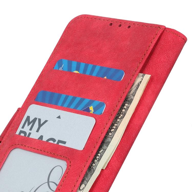 Чехол-книжка Antelope Texture на Самсунг A02 - красный