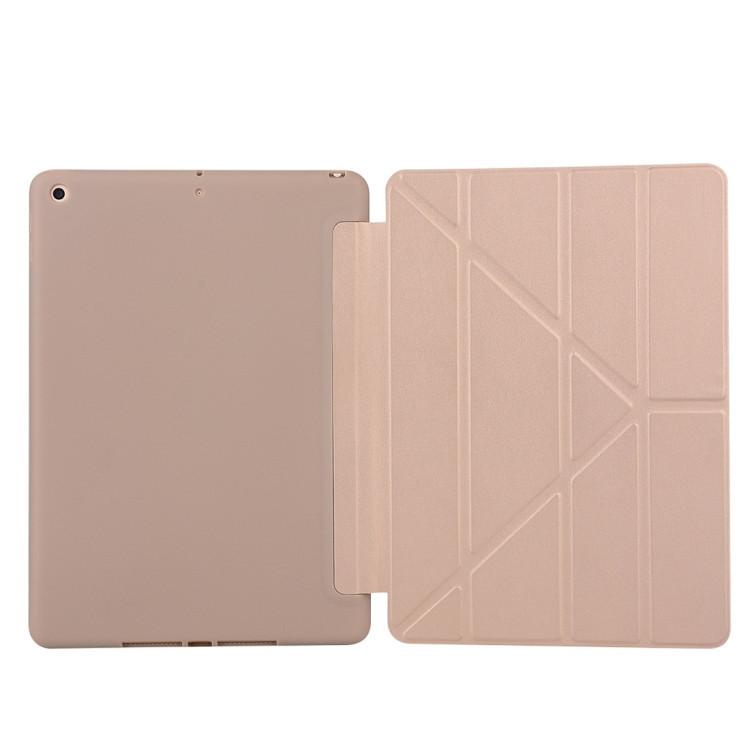 Золотой чехол-книжка Solid Color  для iPad 8/7 10.2