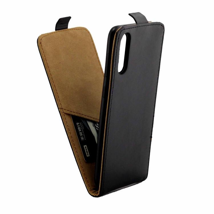 Кожаный флип- чехол Business Style на Samsung Galaxy A50/A30s/A50s- черный