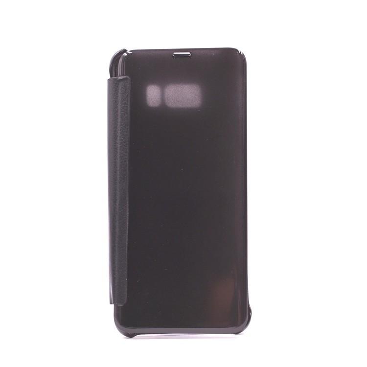 Чехол- книжка полупрозрачная для Samsung Galaxy S8 plus / G9550 -черный