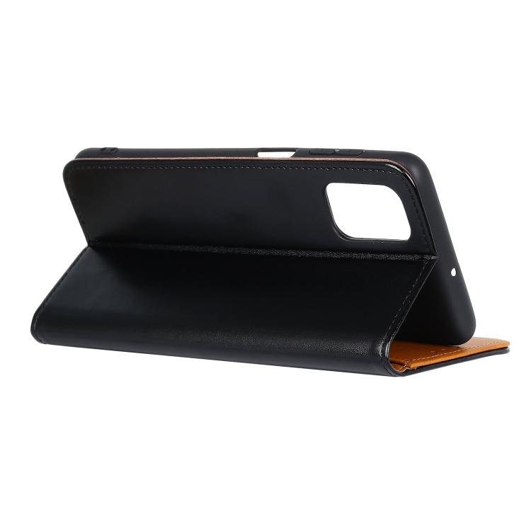 кожаный чехол-книжка подставка на Samsung Galaxy A52