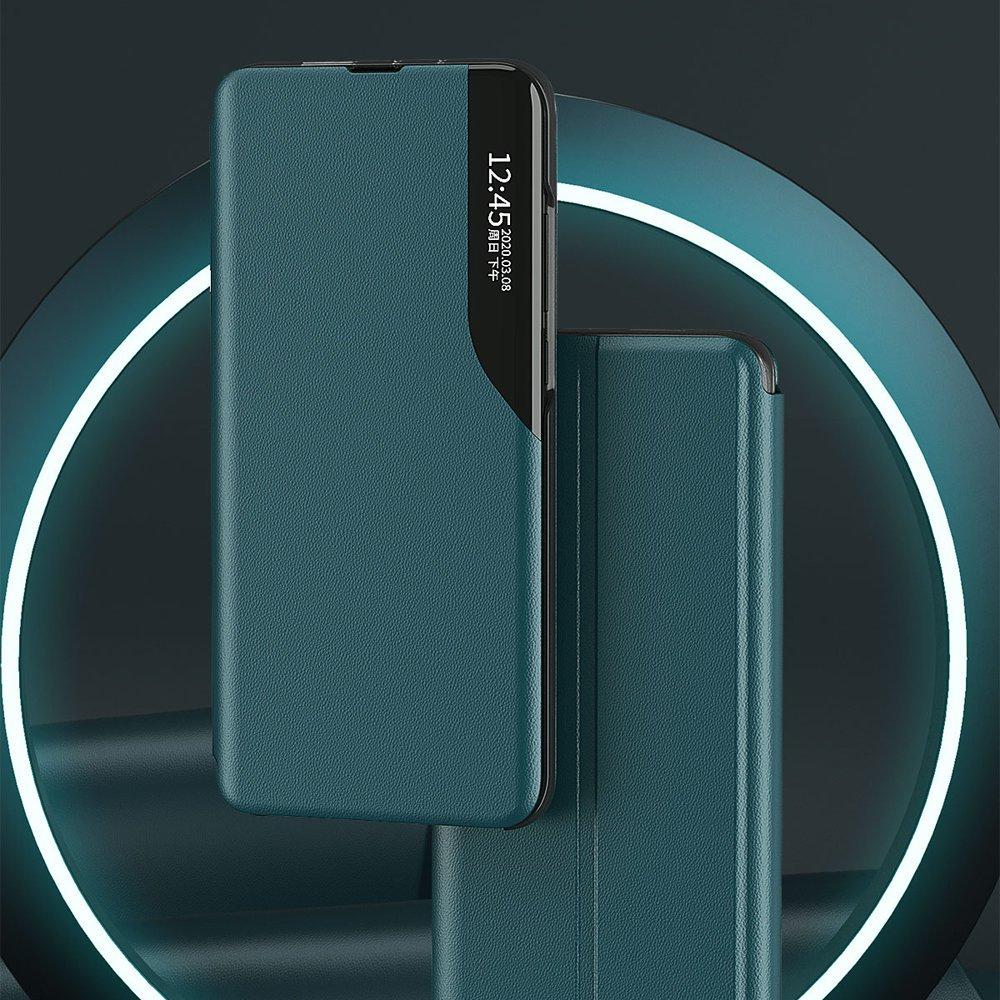 Чехол-книжка Clear View Standing Cover на Ксяоми Поко X3 NFC / Поко X3 Про - черный