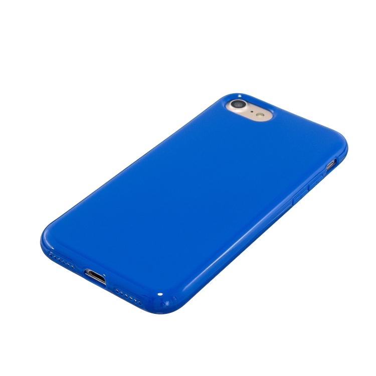 Синий силиконовый чехол накладка для Реалми С2