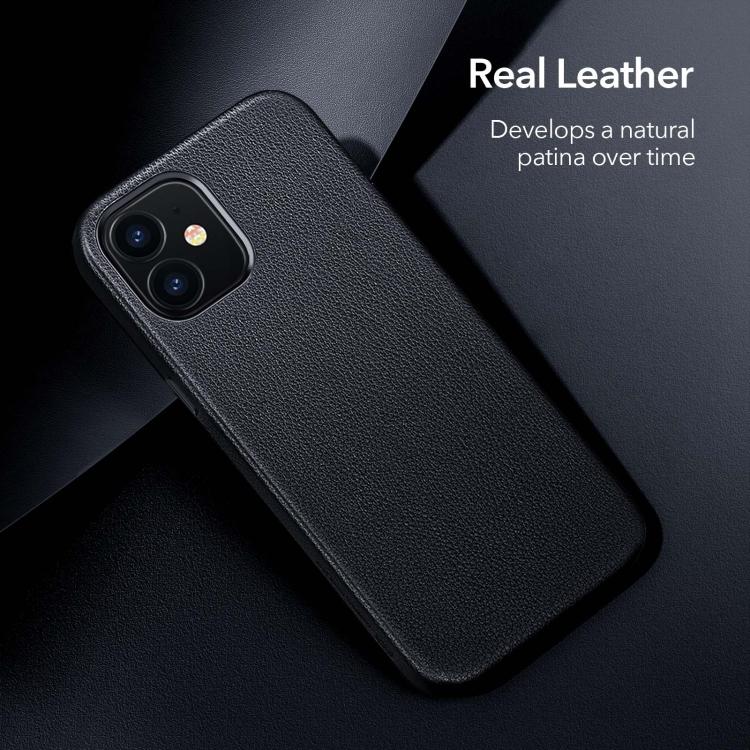 Чехол накладка кожаный для Айфон 12 Мини