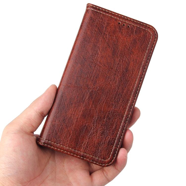 Чехол-книжка красного цвета для Айфон 12 Мини
