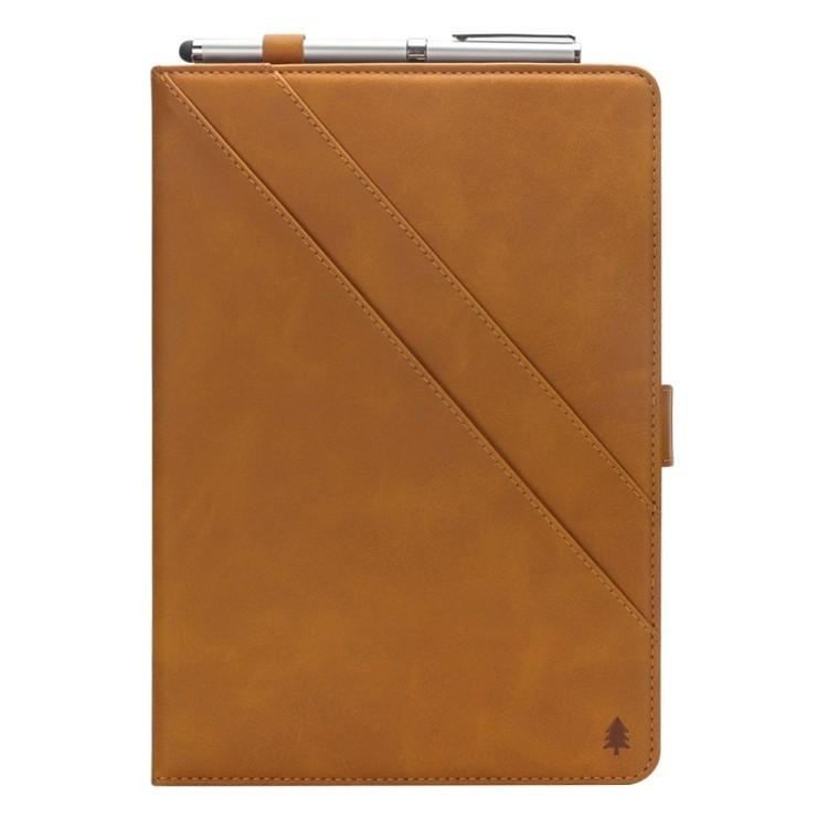 Чехол-книжка DH на Айпад Про 11/2018-коричневый